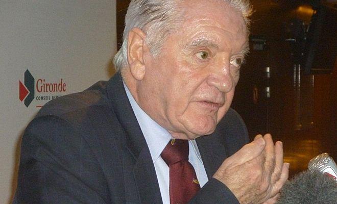 Ce vendredi 28 novembre, Philippe Madrelle a annoncé qu'il ne sera pas candidat aux cantonales en 2015