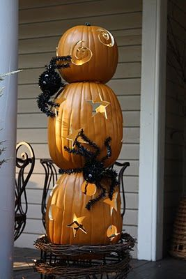 our southern nest pumpkin topiary tutorial cute idea find this pin and more on halloween tent decorating