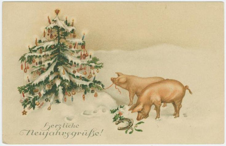 Старый новый год смешные картинки год свиньи