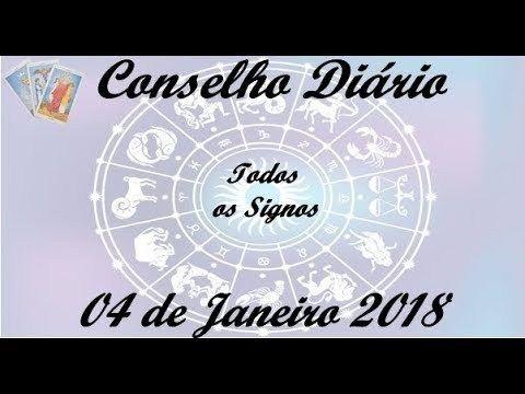 Conselho Diário 04/01/2018 Todos os Signos