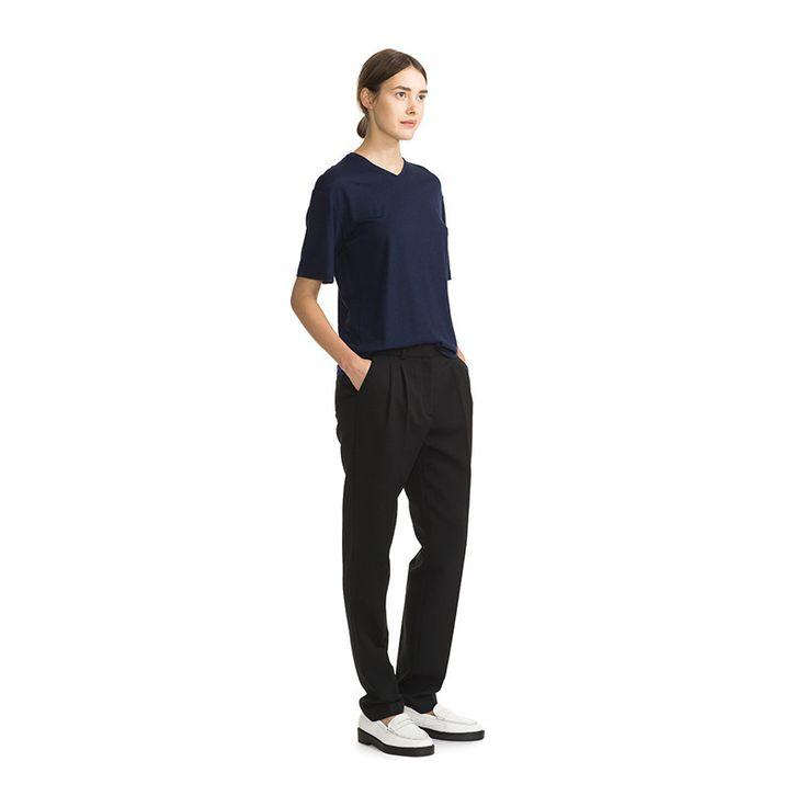 Marimekko Apparel - Hurrikaani Trousers - 009 Black - COMING SOON - PR – Kiitos living by design