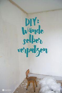 die wände selber verputzen und glätten, haus renovieren