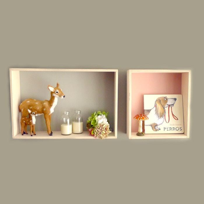 Estanterias para niñosa y dormitorios infantiles. Box Bel Girl by Bel   BelandSoph.com