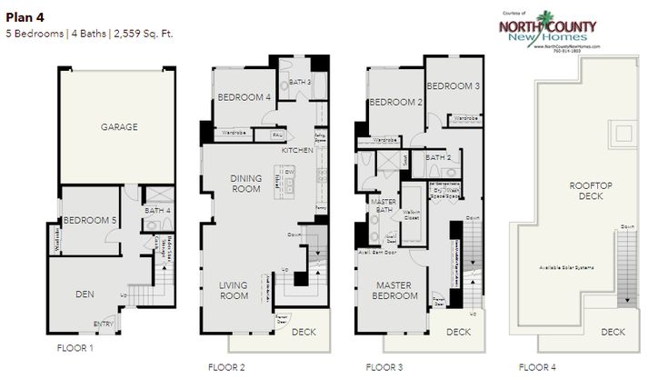 419 best new home floor plans in north county san diego for Oceanside house plans