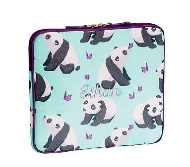Mackenzie Panda Tablet Case Pottery Barn Kids Lunch Box
