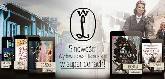 5 nowości Wydawnictwa Literackiego! Poniżej podaję detale promocji. http://www.nexto.pl/5_nowosci_wydawnictwa_literackiego_c1307.xml?pid=81445 Szczegół…
