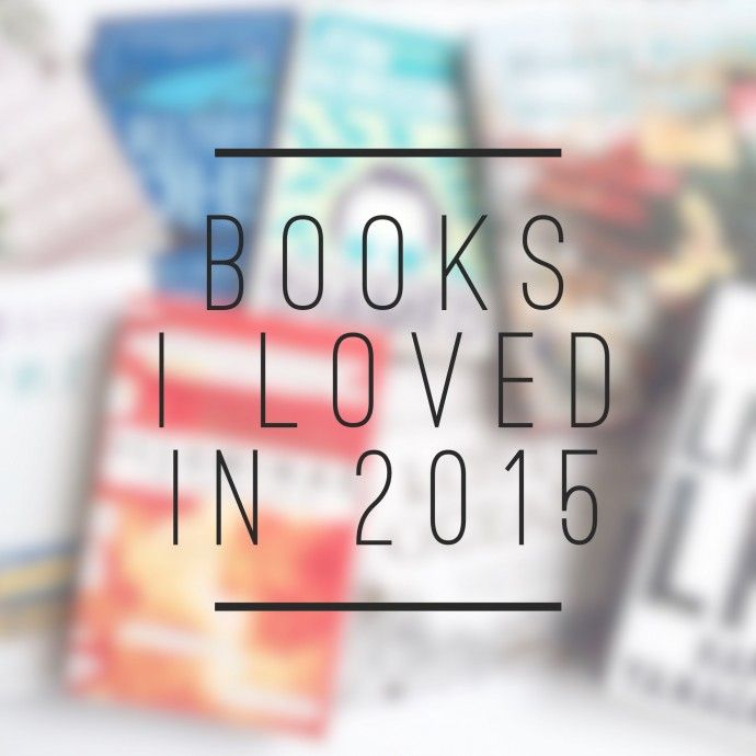 Books that I loved in 2015