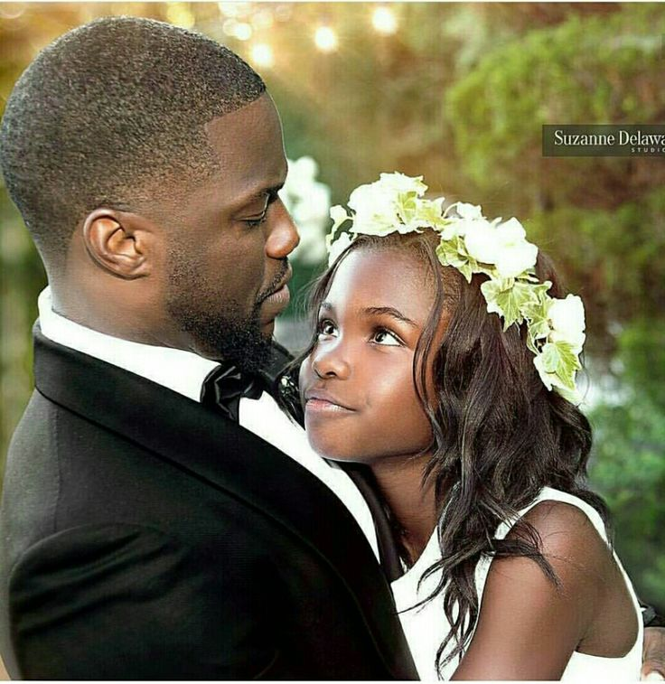 Kevin Hart With His Daughter