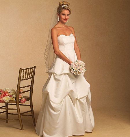 Joie Elise Sew Your Own Wedding Gown By Butterick Could Easily Be