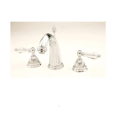 giagni cl101pccl celina 8 inch lavatory faucet with crystal handles polished