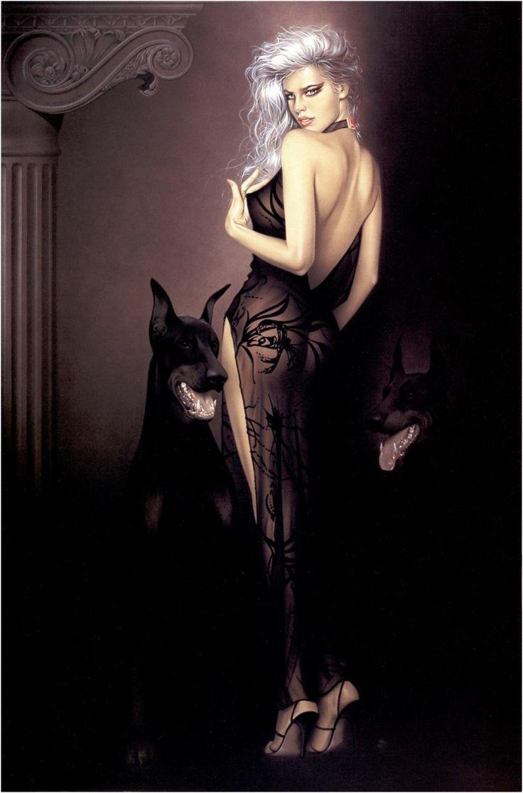 Картинки женщина вамп с подписями приколы блондинки