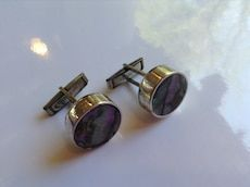 Vintage mother of pearl Cufflink