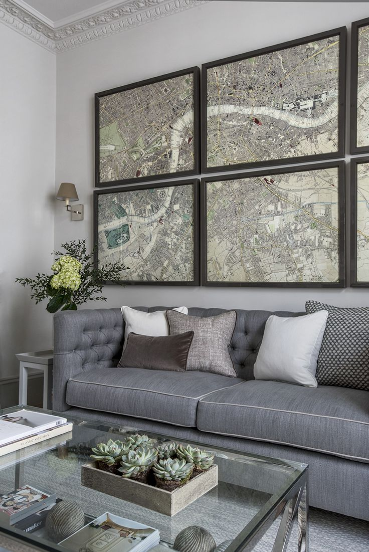 London Townhouse Sitting Room Detail. Sims Hilditch Interior Design