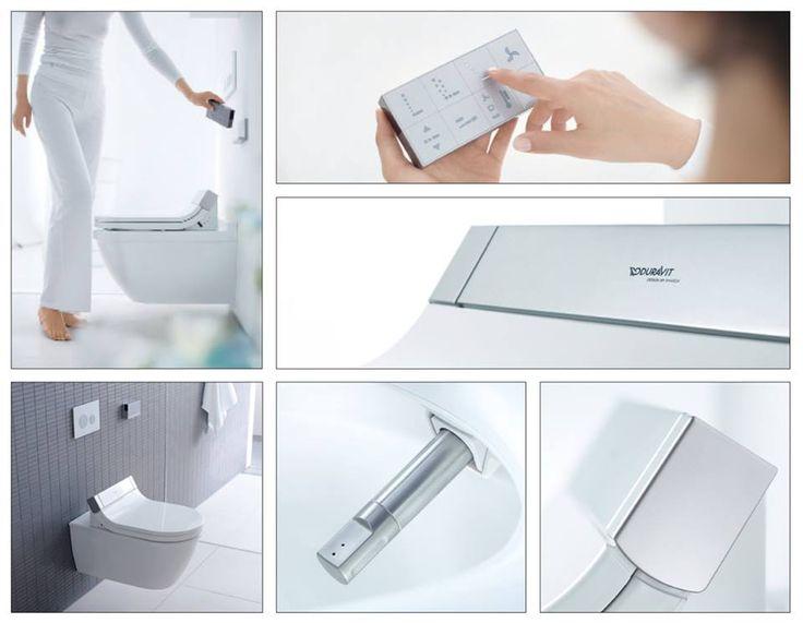 Duravit Sensowash C Bidet Shower - Toilet Seat