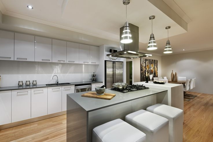 An all white kitchen is a timeless kitchen