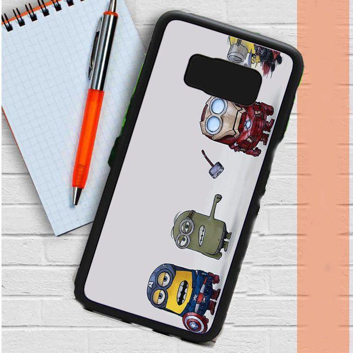 Minions Avenger Samsung Galaxy S8 Plus Case Dewantary