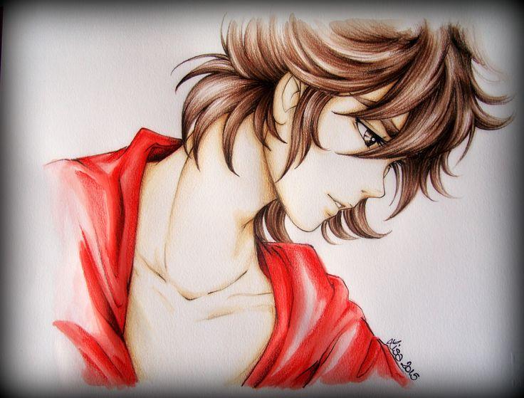 Seiya in red...