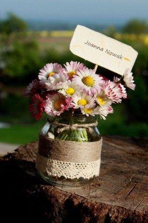 Kwiatowe winietki