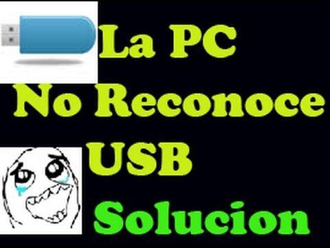 Mi pc no reconoce USB, Micro SD o Pendrive - 3 Metodos (Solucion facil)