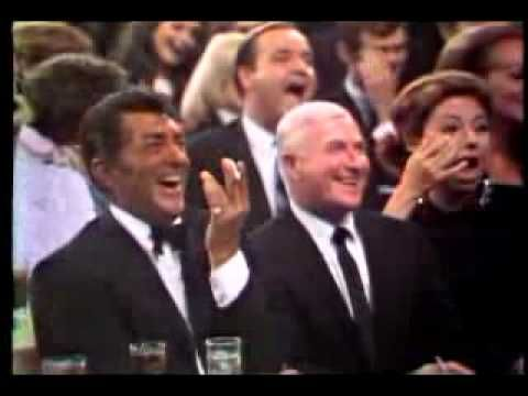 don rickles on the dean martin show - in this shot, Dean is seated next to Ken Lane his pianist who wrote the music to Everybody Loves Somebody Sometime