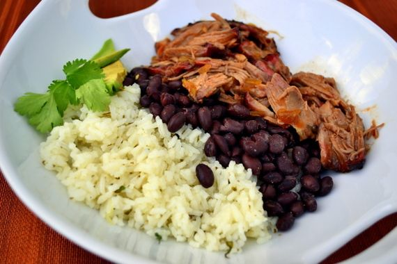 Sweet And Smoky Barbacoa Pulled Pork. This has great flavor that goes great in a salad as well.