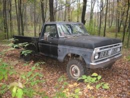 1976 Ford F-Series F-250 by E.R.W. http://www.truckbuilds.net/1976-ford-f-series-f-250-build-by-e-r-w