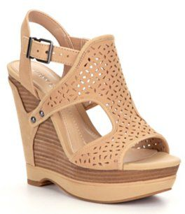 Gianni Bini Tulsah Wedge Sandals