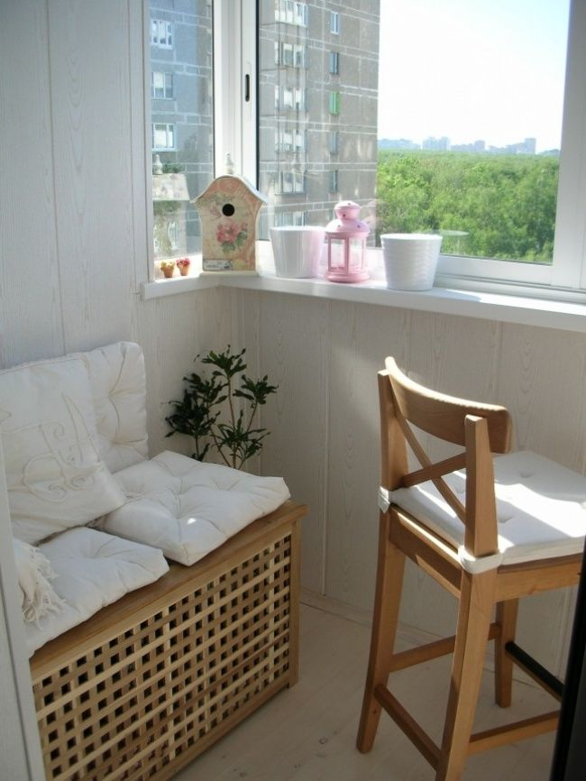 20 cool ideas for your balcony - photo 16