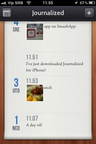 Journalized   Coolest apps for iPhone 4, iPad and Android   Smashapp