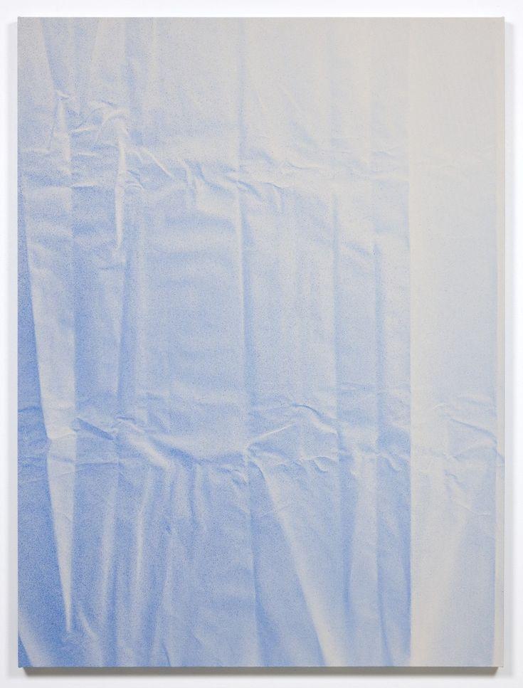 Tauba Auerbach, Untitled (Fold), 2010, Acrylic on canvas / Wooden Stretcher, 182,9 x 137,2 cm © Tauba Auerbach