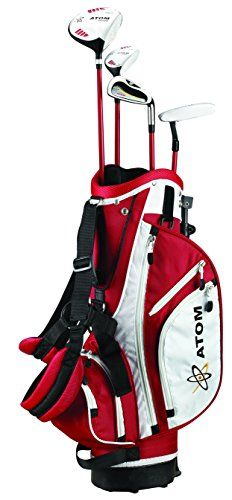 "ATOM Complete Junior Golf Set, Youth 45-54"" tall, Ages 6 -10, Right-handed"