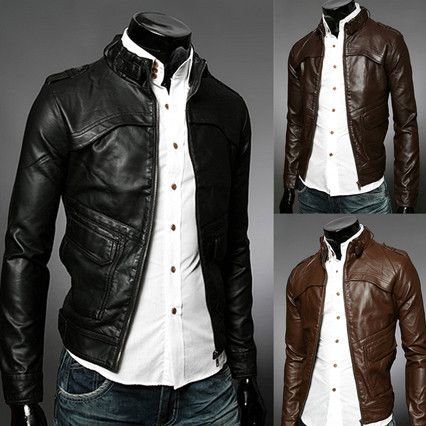 Leather Biker Jacket . Shop Now At  http://sneakoutfitters.com/collections/new-in/products/ao-cccwb-fw-8037-so95