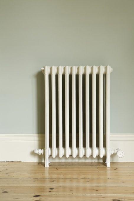 Woodwork: Off-White No. 3 Estate Eggshell  Wall: Blue Gray No. 91 Estate Emulsion