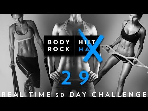 Day #29 - Real Time 30 Day Challenge - Legs, Ass, Inner & Outer Thighs - YouTube