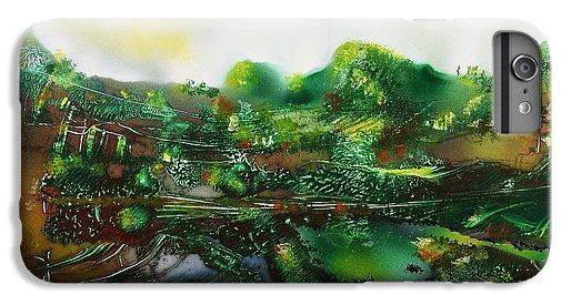 Printed with Fine Art spray painting image Land Of The Trolls by Nandor Molnar (When you visit the Shop, change the orientation, background color and image size as you wish)