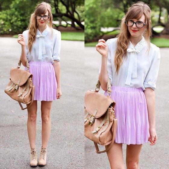 Lavender.  (by Steffy Kuncman) http://lookbook.nu/look/3890182-lavender - Caucasian Sujey