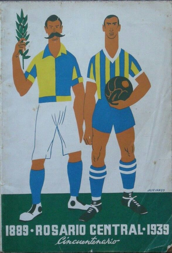 Rosario Central of Argentina, poster in 1939 🇦🇷