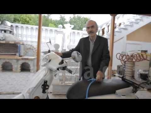 Παρουσίαση της κίνησης μοτοσικλέτας με υδρογόνο από τον Πέτρο Ζωγράφο