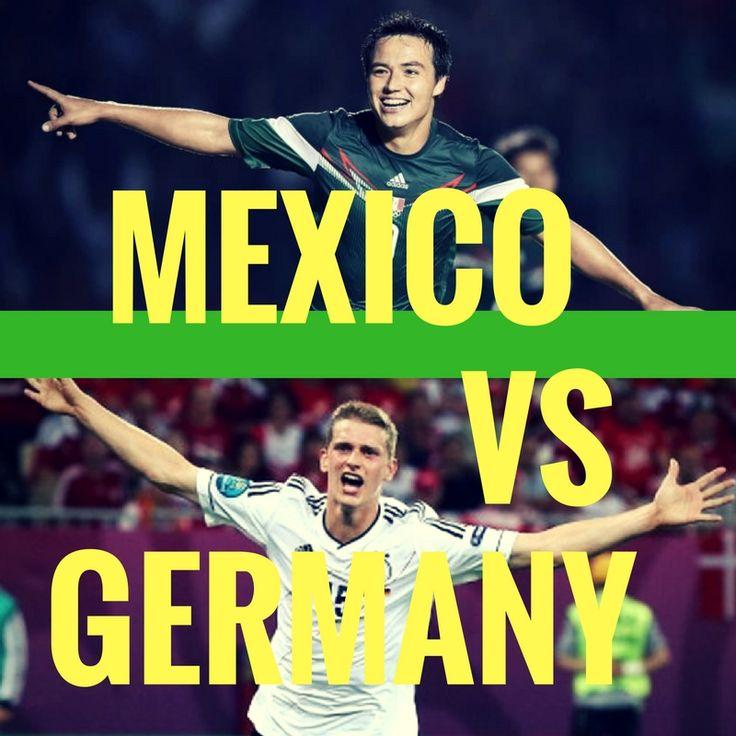 Mexico vs Germany  #olympic #rio2016 #football #soccer #futebol