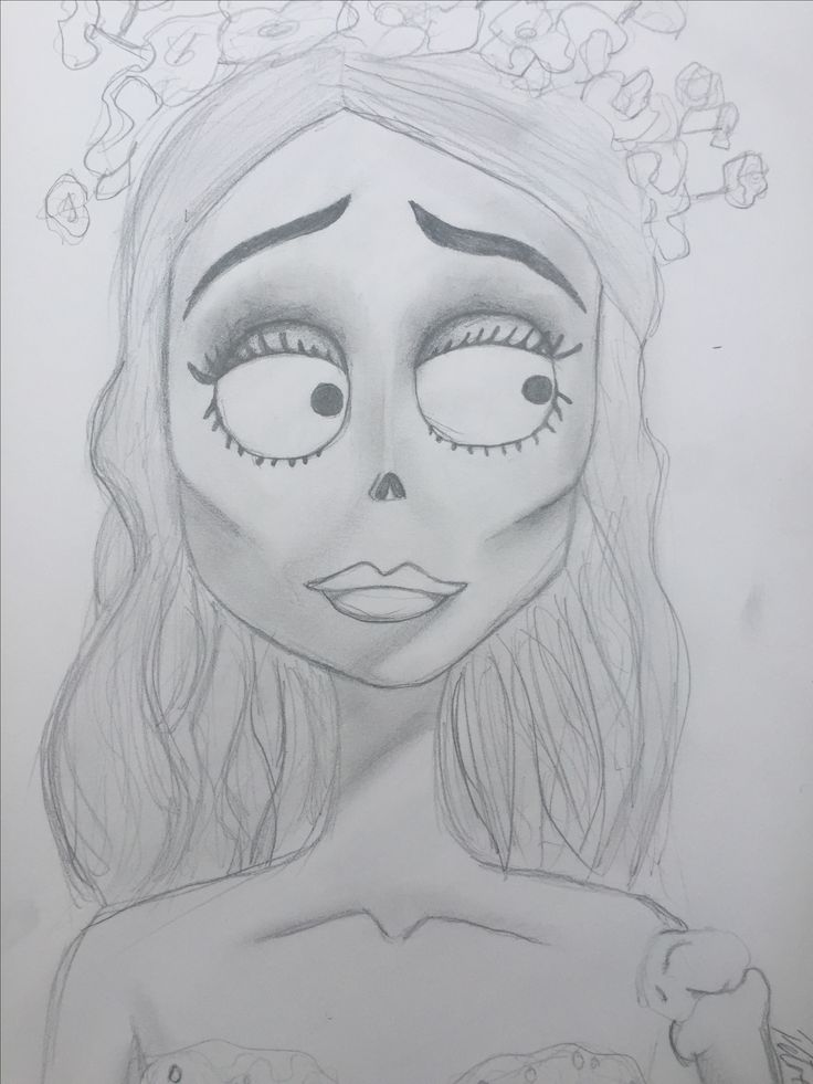 Emily from Corpse Bride...