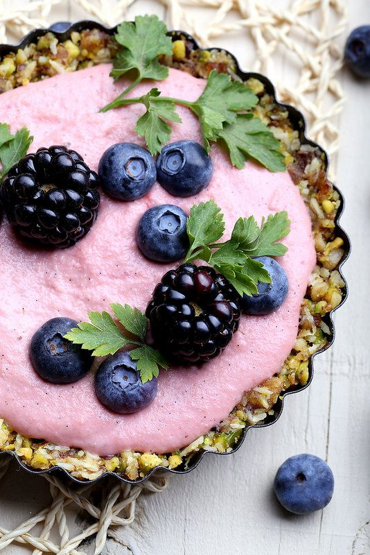 Olives for Dinner | Vegan Recipes and Photography: Raw Berry Tarts for Valentine's Day