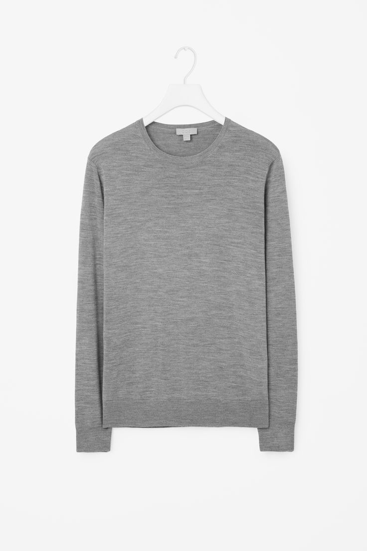 COS | Round-neck merino jumper