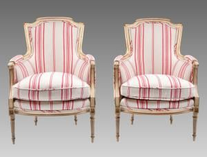 Know Your Upholstered Armchair Styles: Bergère Chair Style