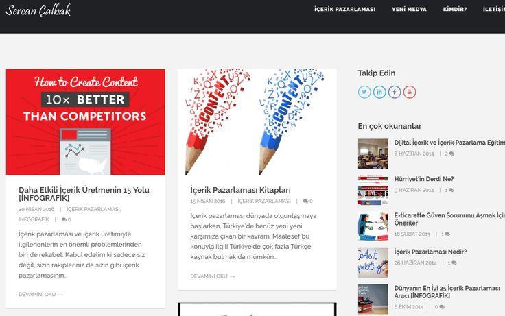 www.sercancalbak.com içerik pazarlama , dijital pazarlama , content marketing