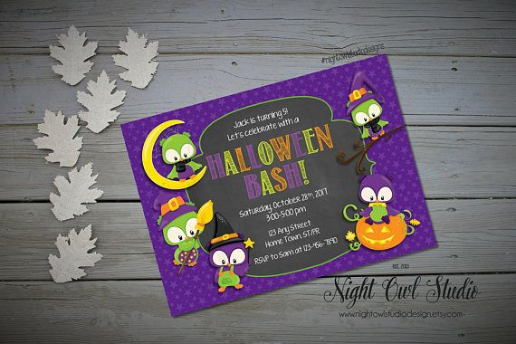 Hey, I found this really awesome Etsy listing at https://www.etsy.com/ca/listing/472898109/halloween-invitation-kids-halloween