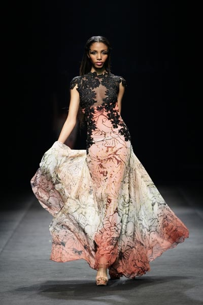 David Tlale Spring 2012 Collection