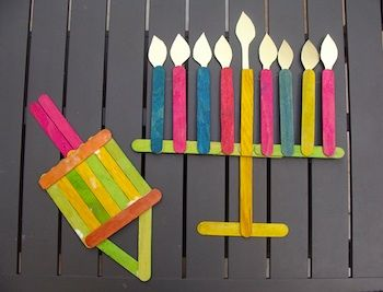 creative crafts with sticks popsicle stick hanukkah symbols by creative 4180