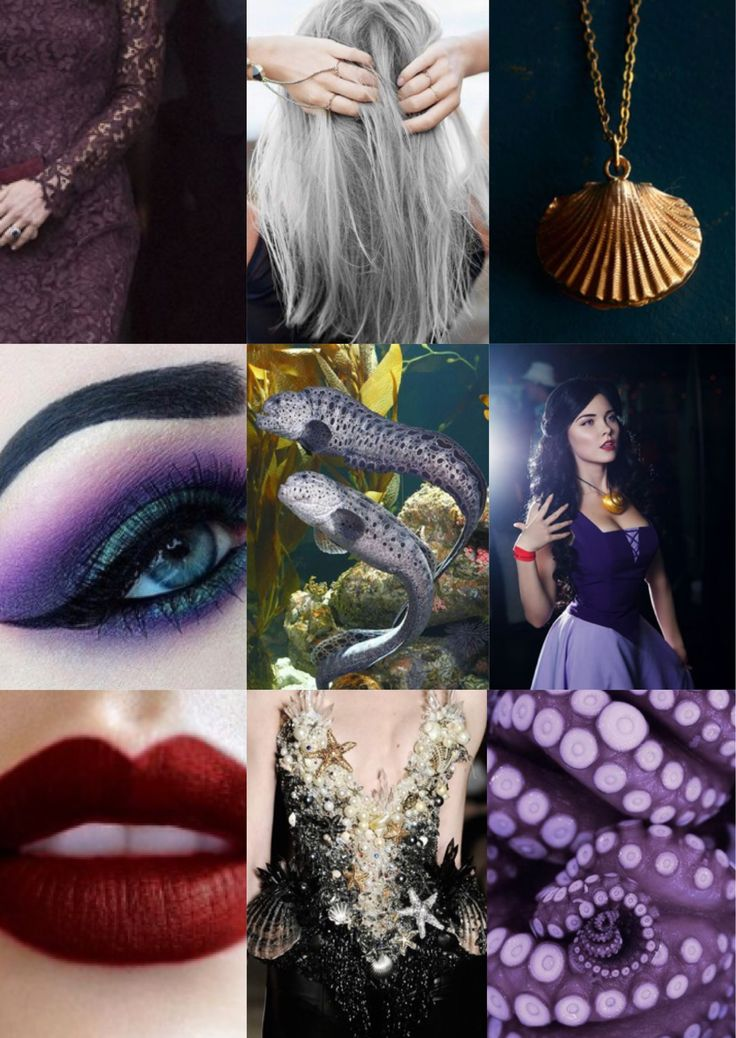 Ursula aesthetic inspiration  Mood Boards  Disney