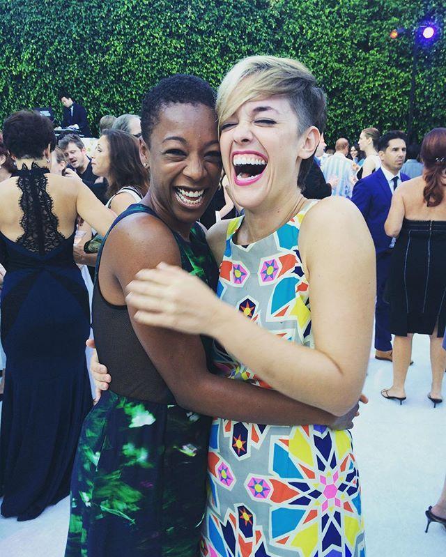 Orange is the New Black - Samira Wiley and her partner Lauren Morelli