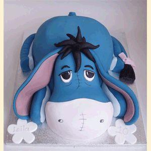 Eeyore cake <3    ooohhhh so cute!!